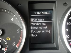 Settings Convenience Menu